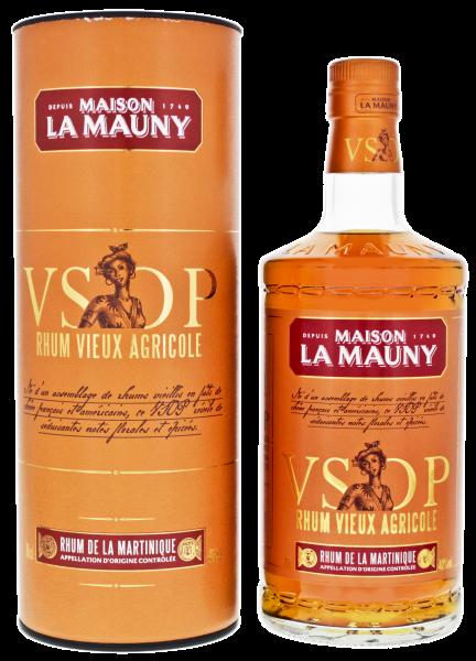 La Mauny Rhum Agricole Vieux VSOP, 0,7L 40%