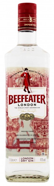 Beefeater London Dry Gin 1,0L 47%
