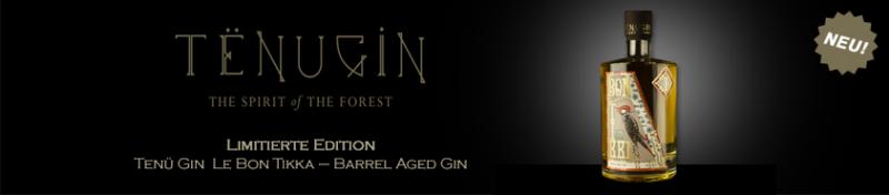 Tenu Le Bon Tikka Barrel Aged Gin 0,5L 50,5%