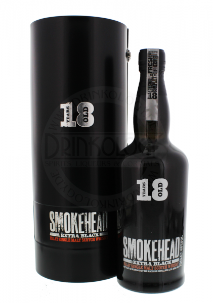Smokehead Extra Black Single Malt Whisky 0,7L 46%