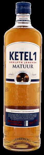 Ketel 1 Gerijpte Jenever Matuur 1,0L 38,4%