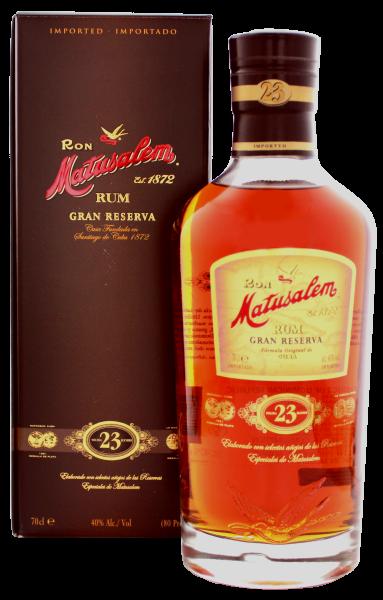 Matusalem Rum Gran Reserva 23 Years Old, 0,7 L, 40%