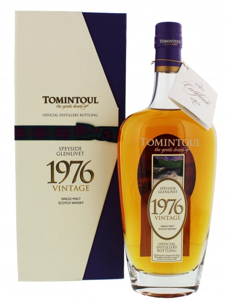 Tomintoul Single Malt Whisky Vintage 1976