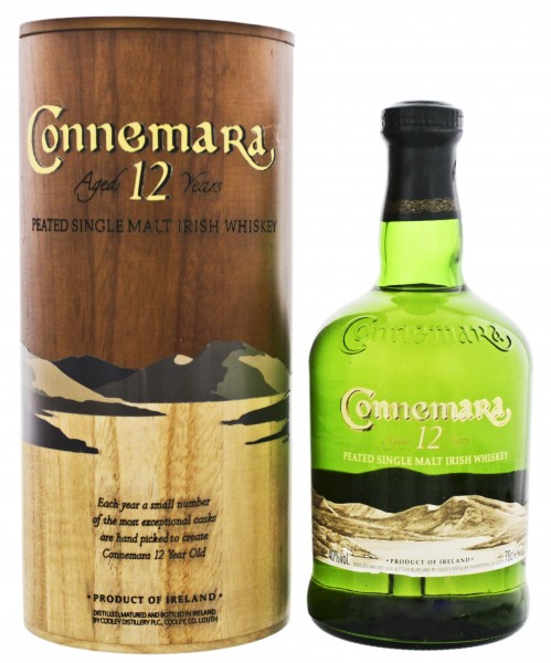 Connemara Single Malt Whiskey 12YO