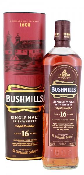 Bushmills Irish Single Malt Whiskey 16 Jahre