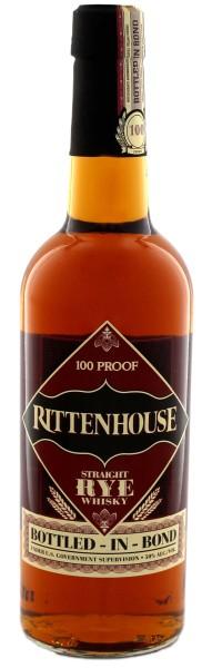 Rittenhouse Straight Rye Whiskey 100 Proof, 0,7 L, 50%
