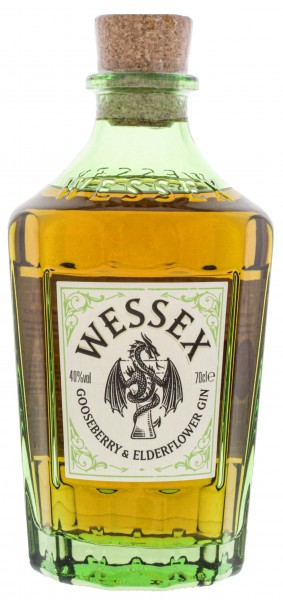 Wessex The Gooseberry and Elderflower Gin 0,7L 40%