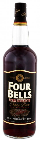 Four Bells Extra Strength Navy Rum 1,0L 50%