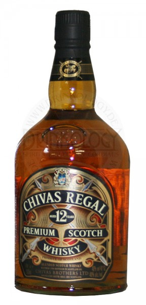 Chivas Regal Blended Scotch Whisky 12 Years Old, 1 L, 40%