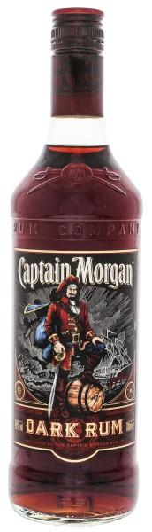Captain Morgan Dark Rum 0,7L 40%