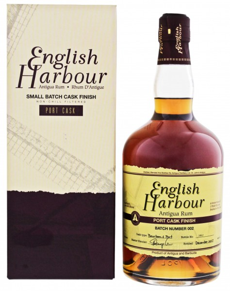 English Harbour Rum Port Cask Finish Batch 2 0,7L 46%