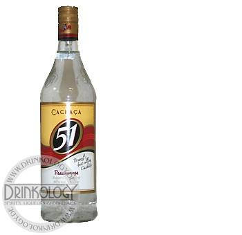 Cachaca 51, 1 L, 40%