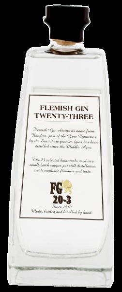 Flemish Gin Twenty-Three 0,7 L 46%