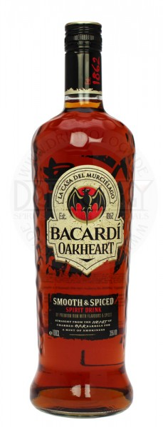 Bacardi Oakheart Spiced 1,0L 35%