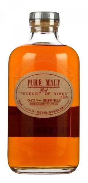 Nikka Pure Malt Whisky Red 0,5L 43%