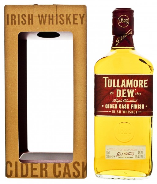 Tullamore Dew Irish Whiskey Cider Cask Finish 0,5L 40%