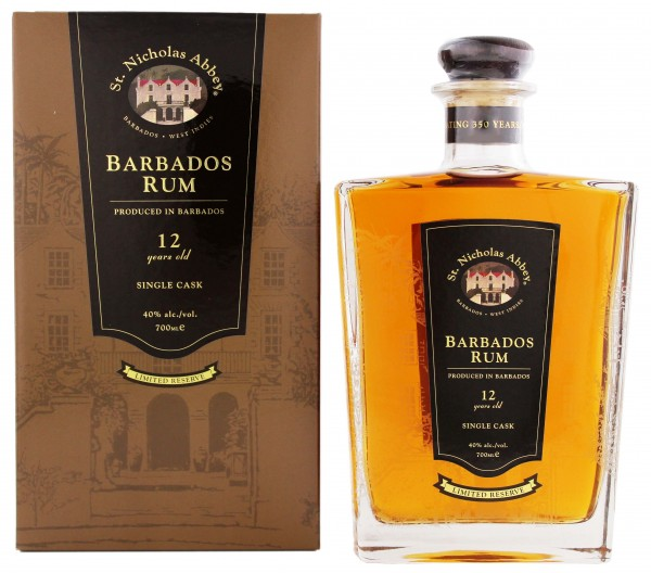 St. Nicholas Abbey Rum 12 Years Old