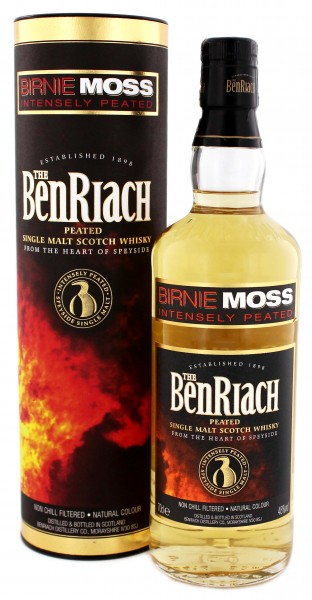 Birnie Moss Benriach Single Malt Whisky