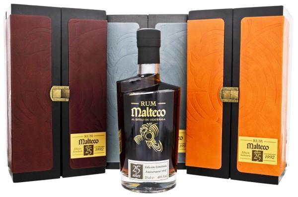 Malteco Rum Edicion Limitada Anniversario 1992 25 Jahre 0,7L 40%