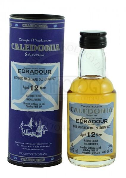 Edradour Single Malt Whisky Caledonia 12 Years Old Miniature