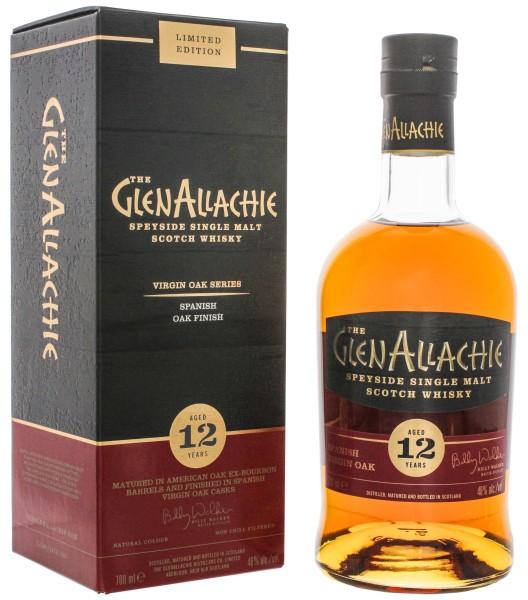 GlenAllachie SIngle Malt Whisky 12 Jahre Spanish Virgin Oak 0,7L 48%