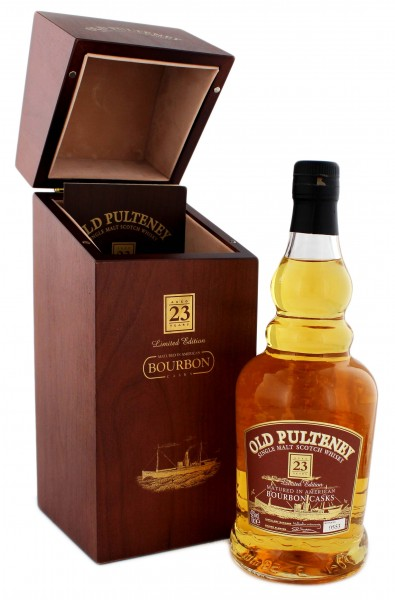 Old Pulteney Whisky Bourbon Cask 23 Years Old