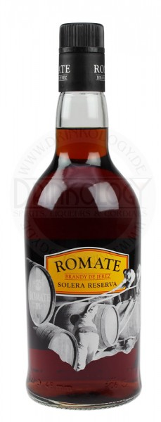 Romate Brandy Solera Reserva 0,7L 36%