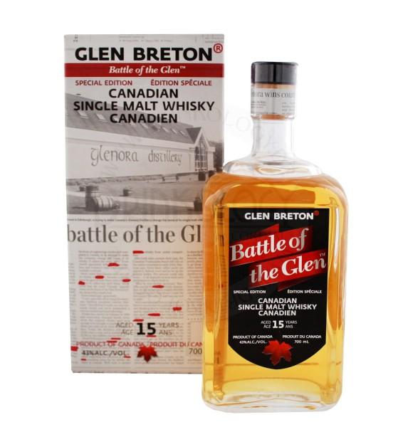 Glen Breton Battle of the Glen Whisky