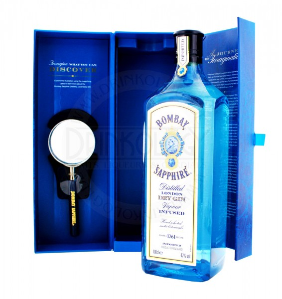 Bombay Sapphire Gin Laverstoke Mil Limited Edition