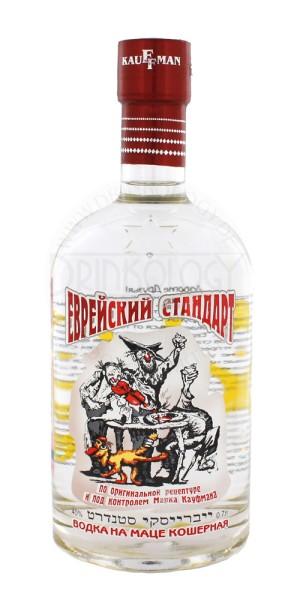 Kauffman Vodka Evreiskiy Standart - Jewish Standart, 0,7 L, 40%