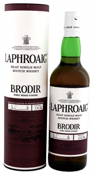 Laphroaig Brodir Port Wood Finish, Batch 002, 0,7L 48%