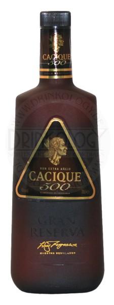 Cacique 500 Rum Extra Anejo, 0,7 L, 40%