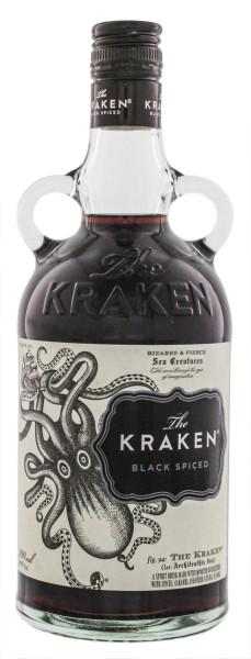 The Kraken Black Spiced 0,7L 40%