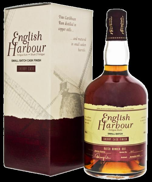English Harbour Rum Sherry Cask Finish jetzt kaufen im Drinkology Online Shop !