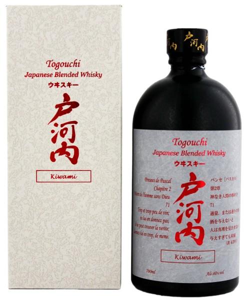 Togouchi Japanese Blended Whisky Kiwami 0,7L 40%