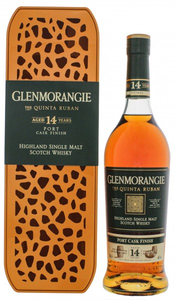 Glenmorangie Single Malt Whisky Quinta Ruban Lim. Edition Giraffe 0,7L 46%