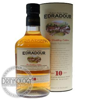 Edradour Single Malt Whisky 10 Jahre, 0,7 L, 40%