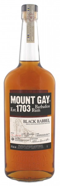 Mount Gay Black Barrel 1,0L 43%