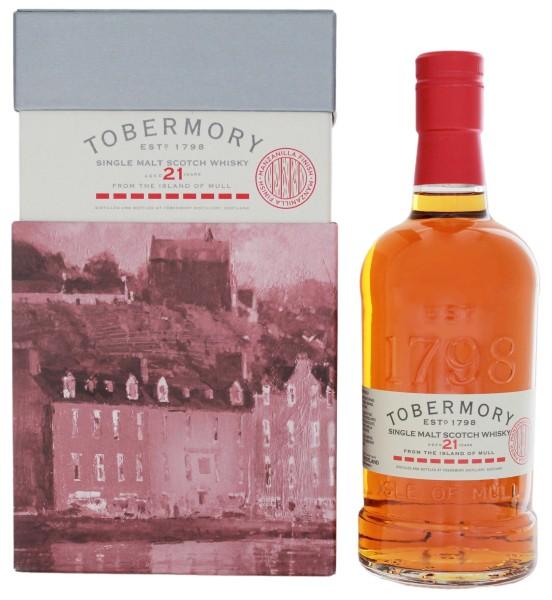 Tobermory Single Malt Whisky 21 Jahre Manzanilla Sherry Cask 0,7L 53,8%