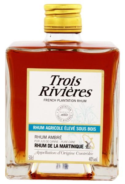 Trois Rivieres Pave Ambre Rum 0,5L 40%