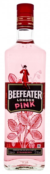 Beefeater Pink Gin 1,0L 37,5%