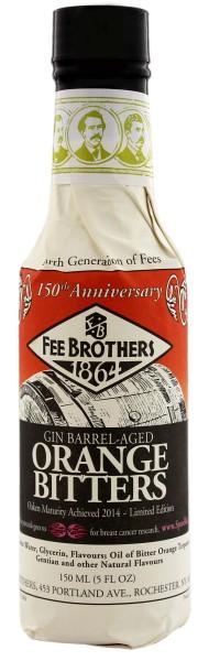 Fee Brothers Gin Barrel-Aged Orange Bitters, 0,15 L, 9,0%