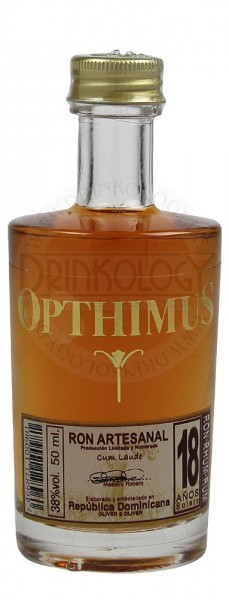 Opthimus Rum 18 Years Old Miniature