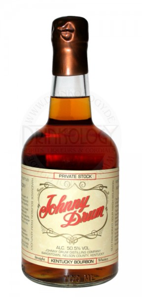 Johnny Drum Bourbon Whiskey Private Stock