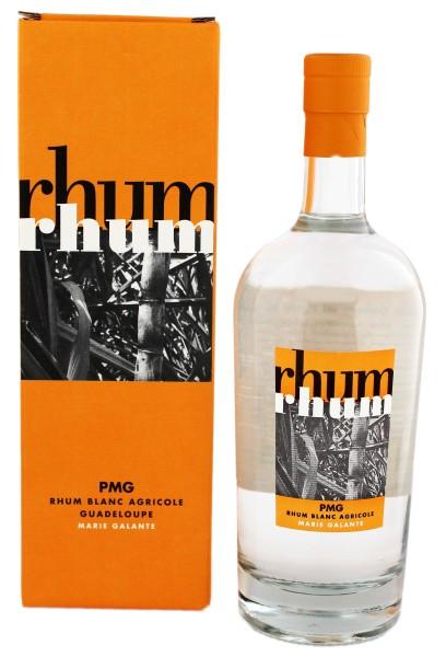 PMG Rhum Blanc Agricole, 0,7 L, 56%