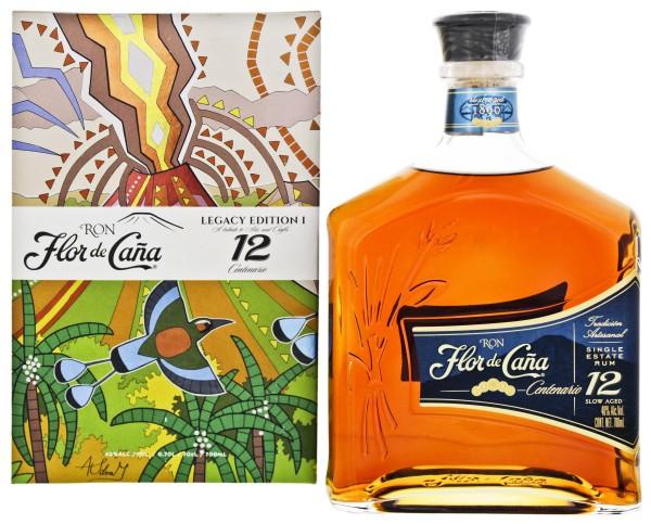 Flor de Cana Rum Centenario 12 Jahre, 0,7 L, 40%