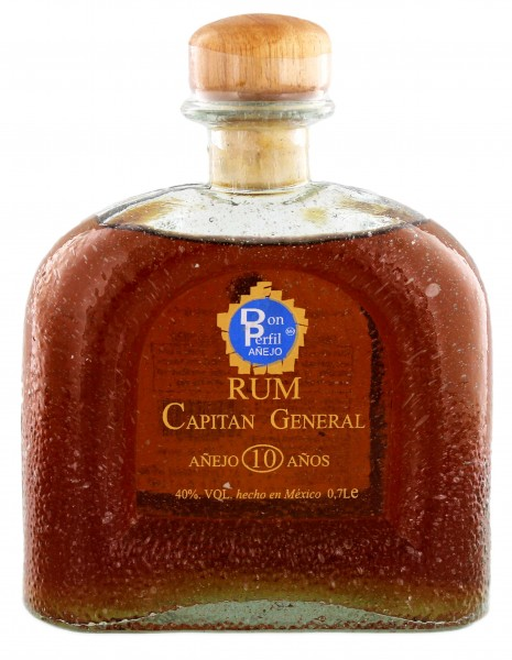 Capitan General Rum Anejo 10 Years Old 0,7L 40%