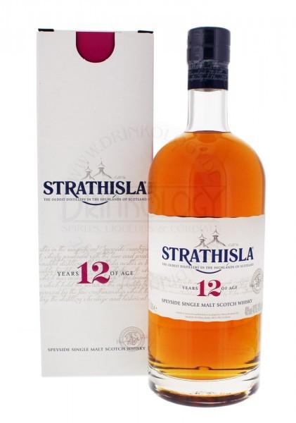 Strathisla Single Malt Whisky 12 Years