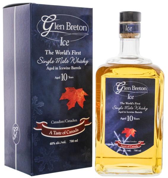 Glen Breton Ice Wine Barrel Malt Whisky 10 Jahre, 0,7 L, 40%
