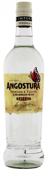 Angostura Rum Caribbean Reserva White 0,7L 37,5 %